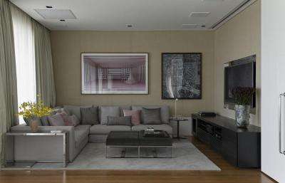 Nappali sarok - nappali ötlet, modern stílusban