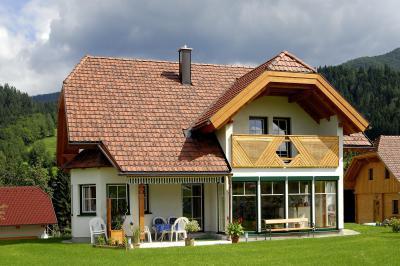 TONDACH® Bolero kerámia tetőcserép antik színben - tető ötlet, modern stílusban