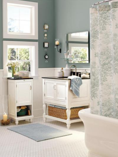 Szép, country fürdő - fürdő / WC ötlet, klasszikus stílusban