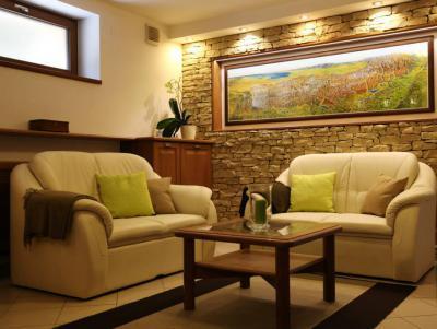 Társalgó kőburkolattal - nappali ötlet, modern stílusban
