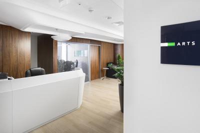 Iroda előtere - előszoba ötlet, modern stílusban