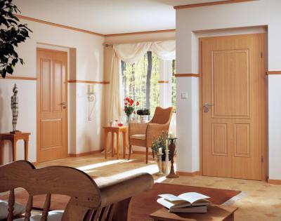 Hagyományos fa beltéri ajtók - nappali ötlet, klasszikus stílusban