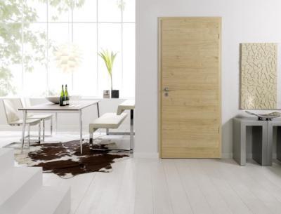 Modern fa beltéri ajtó - nappali ötlet, modern stílusban