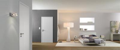 Modern megjelenésű beltéri ajtó - háló ötlet, modern stílusban