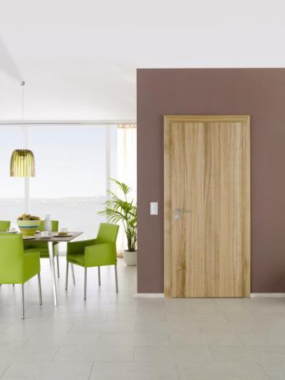 Famintás beltéri ajtó - nappali ötlet, modern stílusban