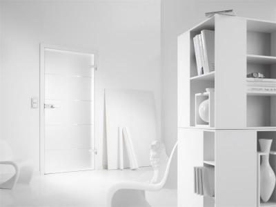Üvegajtó modern belső térben - belső továbbiak ötlet, modern stílusban
