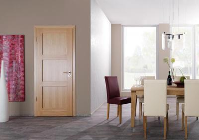 Modern enteriőr modernista beltéri ajtóval - nappali ötlet, modern stílusban