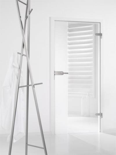 Átlátható terek üvegajtóval - belső továbbiak ötlet, modern stílusban