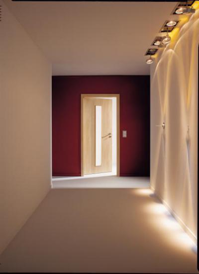 Üvegbetétes modern beltéri ajtó - belső továbbiak ötlet, modern stílusban