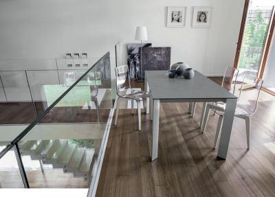 Saturno kihúzható étkezőasztal - belső továbbiak ötlet, modern stílusban