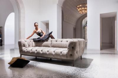 Dokos kanapé - nappali ötlet, klasszikus stílusban
