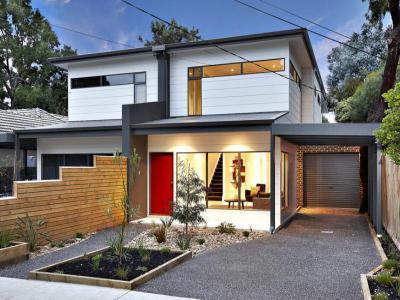 Bejárati ajtó7 - kert / udvar ötlet, modern stílusban
