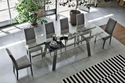 Giove kihúzható étkezőasztal - nappali ötlet, modern stílusban