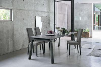 Deimos kihúzható étkezőasztal - nappali ötlet, modern stílusban