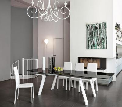 Hercules kihúzható étkezőasztal - nappali ötlet, modern stílusban