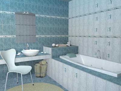Zalakerámia Kapri burkolólap család - fürdő / WC ötlet, mediterrán stílusban