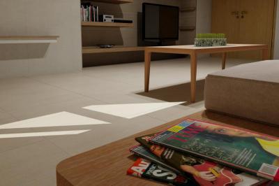 Zalakerámia Almeria burkolólap család - nappali ötlet, minimál stílusban