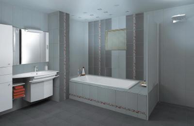 Zalakerámia Vario burkolólap család - fürdő / WC ötlet, modern stílusban