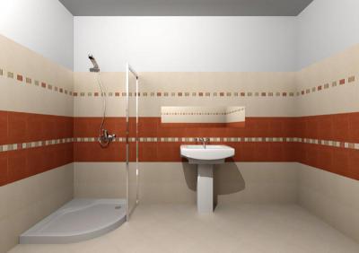 Zalakerámia Panama burkolólap család - fürdő / WC ötlet, klasszikus stílusban