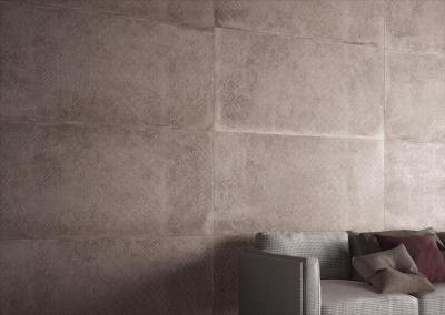 Supergres Art Clay Living - nappali ötlet, modern stílusban