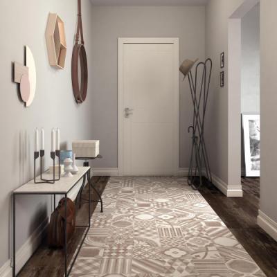 Supergres Art Ingresso Cementine Warm - előszoba ötlet, modern stílusban