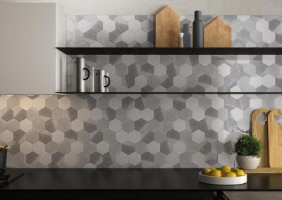 Supergres Art Graphite Cucina - konyha / étkező ötlet, modern stílusban