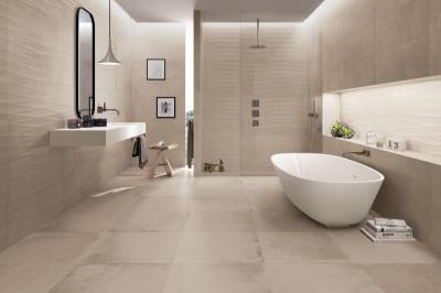 Supergres Bagno Art Clay Art Silk - fürdő / WC ötlet, minimál stílusban