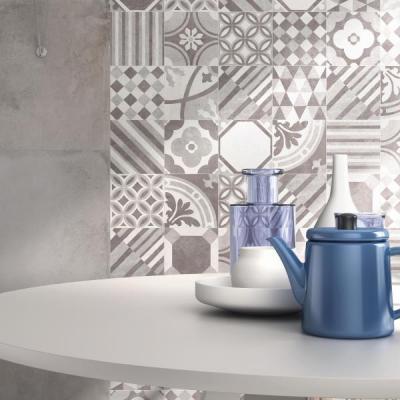 Supergres Art Sala Pranzo Cementine - konyha / étkező ötlet, modern stílusban