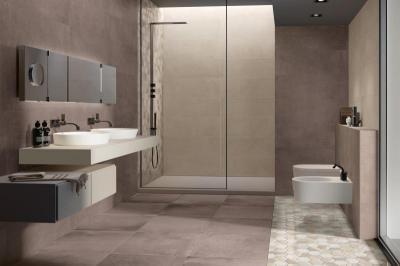 Supergres Bagno Art Tobacco - fürdő / WC ötlet, modern stílusban