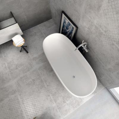 Supergres Art Bagno Graphite Cement - fürdő / WC ötlet, minimál stílusban