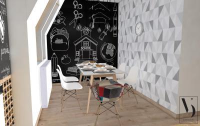 Hangulatos étkező - konyha / étkező ötlet, modern stílusban
