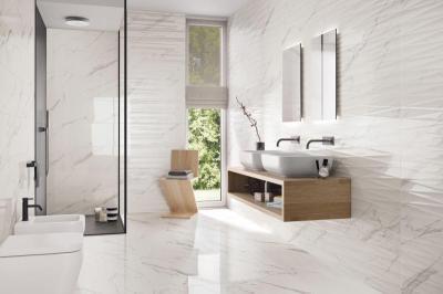 Supergres Purity Bagno Statuario - fürdő / WC ötlet, modern stílusban