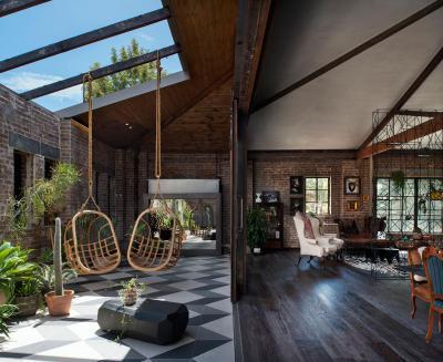 Terasz, nappali és veranda egyben - erkély / terasz ötlet