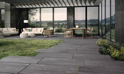 Stonework Lugnez - erkély / terasz ötlet, modern stílusban