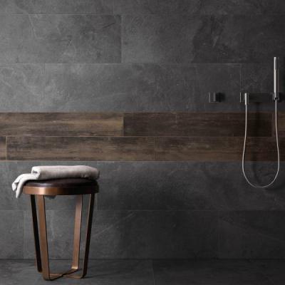 Stonework Ardesia Nera - fürdő / WC ötlet, minimál stílusban
