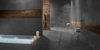 Stonework Ardesia Nera - fürdő / WC ötlet