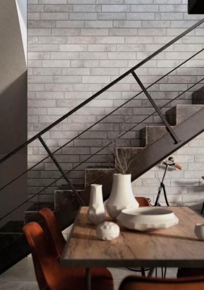 Story Grey Brick - belső továbbiak ötlet, modern stílusban