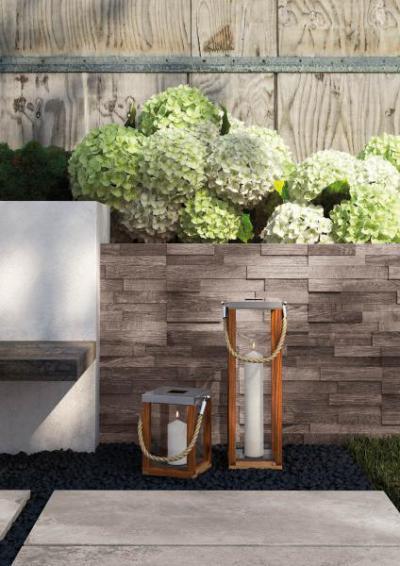 Story T20 Grey - erkély / terasz ötlet, rusztikus stílusban