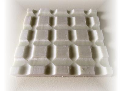 Linea Cube festetlen, nincs felületkezelve