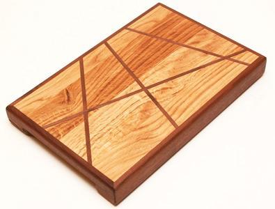 Prémium vágódeszka vonalakkal - konyha / étkező ötlet, modern stílusban