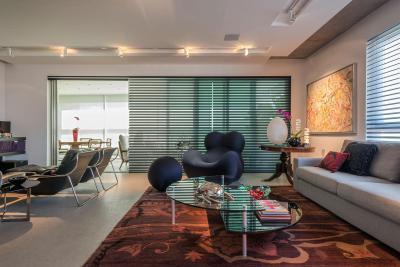 Design fotel a nappaliban - nappali ötlet, modern stílusban