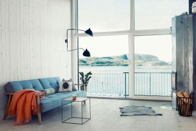 Skandináv nappali - nappali ötlet, modern stílusban