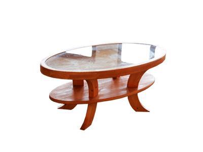 Ovális dohányzóasztal - nappali ötlet, klasszikus stílusban