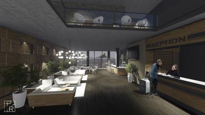 Látványos faburkolat a belső térben - belső továbbiak ötlet, modern stílusban
