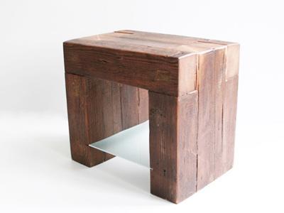 Éjjeliasztal gerendából I. - háló ötlet, rusztikus stílusban