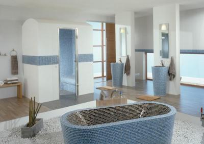 Egyedi szaniterek Lambda Wedi építőlemez alkalmazásával - fürdő / WC ötlet, modern stílusban