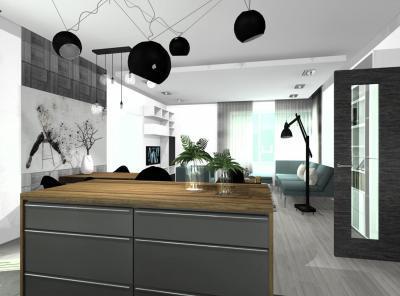 Különleges függő lámpa - konyha / étkező ötlet, modern stílusban