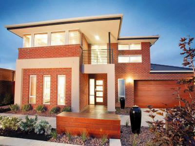 Gar zs49 inspir ci t r for Face brick home designs