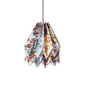 Orikomi Virágos origami lámpaernyő, sárga