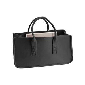 Present Time Magazin tartó táska, fekete